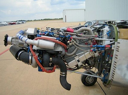 Plane Engine on Another Experimental Aircraft Is Ready To Touch The Sky