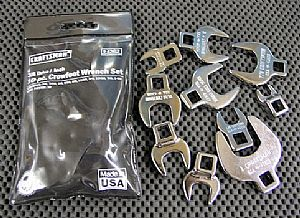 Bought a 3/8 inch crowfoot wrench set