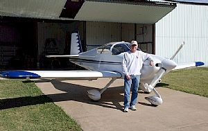 My first ride in an RV-7A