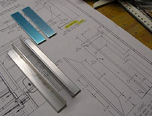 Ready to make the F-996B spacers and the F-996C reinforcement angles