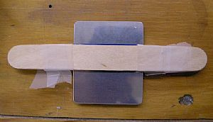 Time make the bend in the F-767 attach plate