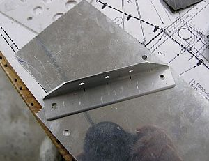 Here are the new holes in the F-785B attach angle
