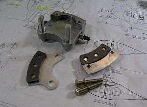 Dismantled the brakes