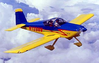The RV-9A in the air
